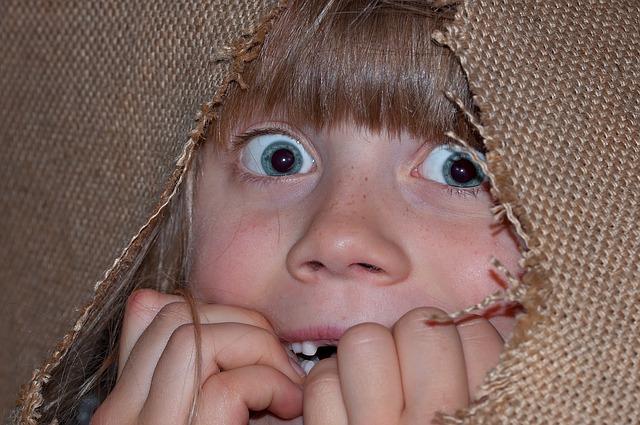 dziecko przerażone