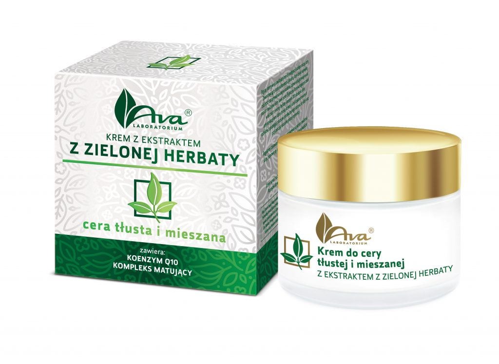 Krem z ekstraktem z zielonej herbaty Ava Labolatorium