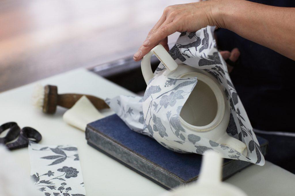 proces tworzenia porcelana Ralph Lauren Home x Burleigh