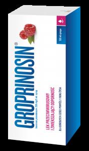 Opakowanie Groprinosin leku przeciwwirusowego