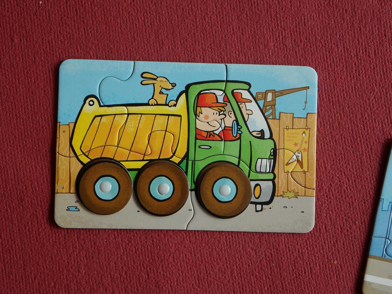 Puzzle dla 2 latków