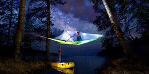 TENTSILE – namiot w chmurach – nowy wymiar biwakowania