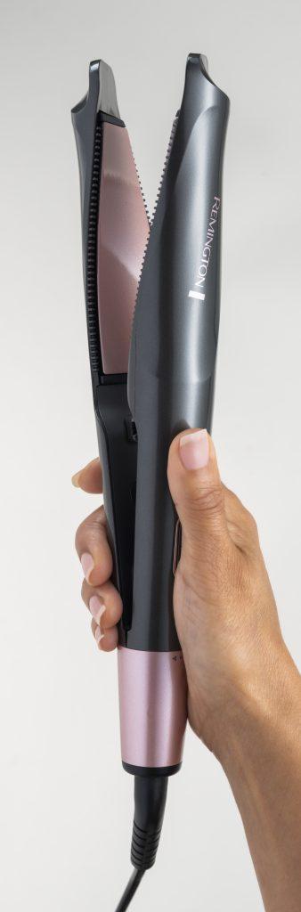 Remington – prostownico-lokówki Curl&Straight Confidence.