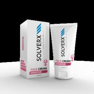 SOLVERX do pielęgnacji skóry wrażliwej