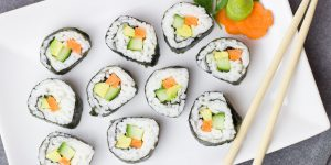 Sushi i jego ogromna popularność