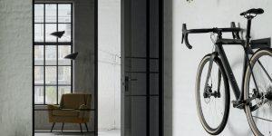 Dwuskrzydłowe drzwi Swing Door Slim Line